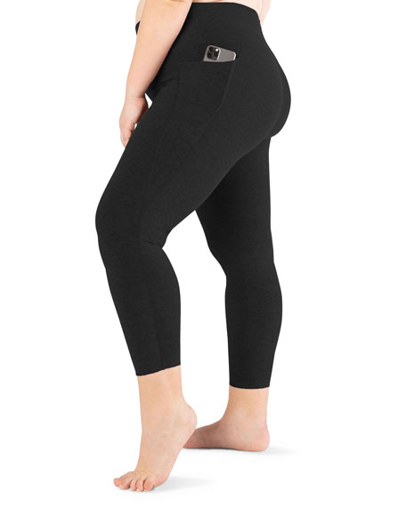 Beyond Yoga Plus Size Out Of Pocket High Waist Midi Leggings