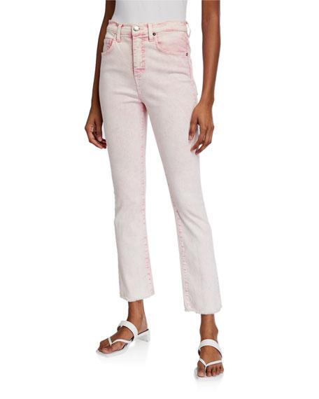 Veronica Beard Carly High-Rise Kick Flare Jeans