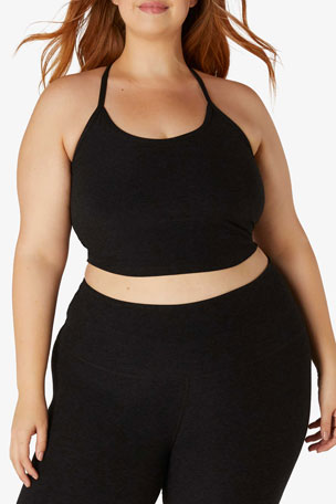 Beyond Yoga Plus Size Space-dye Slim Racerback Top