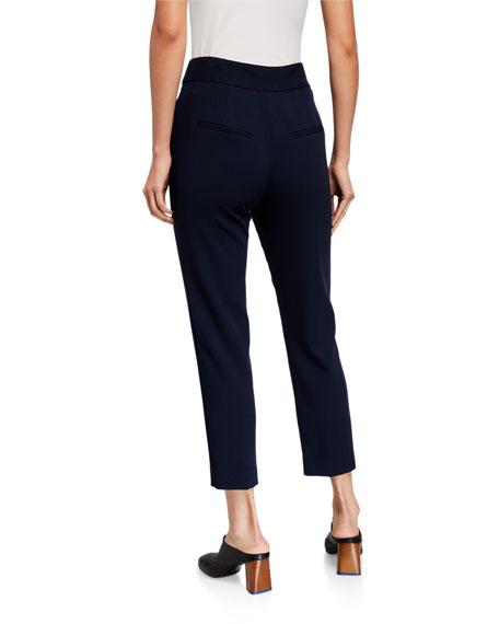 Veronica Beard Renzo Straight-Leg Ankle Pants