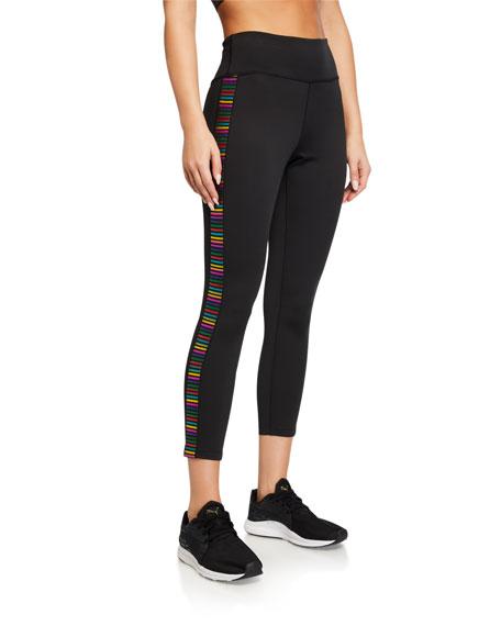 Pam & Gela Metallic Rainbow 7/8 Leggings