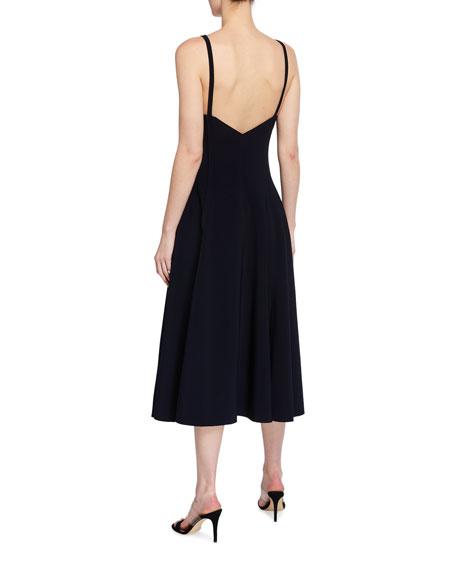 Norma Kamali Slip Grace Sleeveless Midi Dress