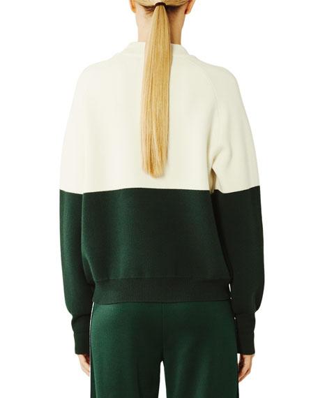 Tory Sport Viscose Colorblock Active Sweater