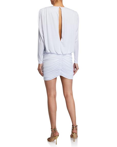 Retrofete Flynn Paillette Sequin Blouson Cocktail Dress