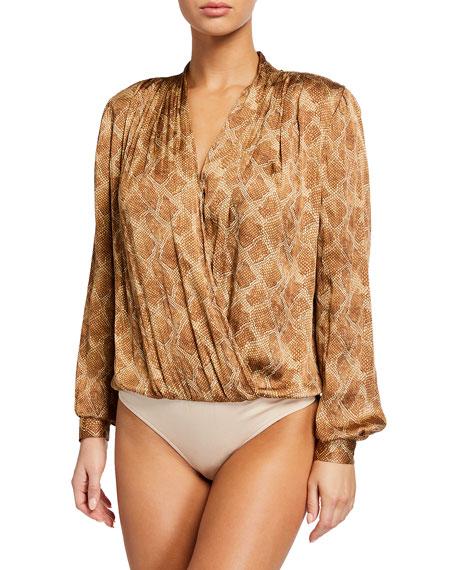 PAIGE Sevella Long-Sleeve Bodysuit