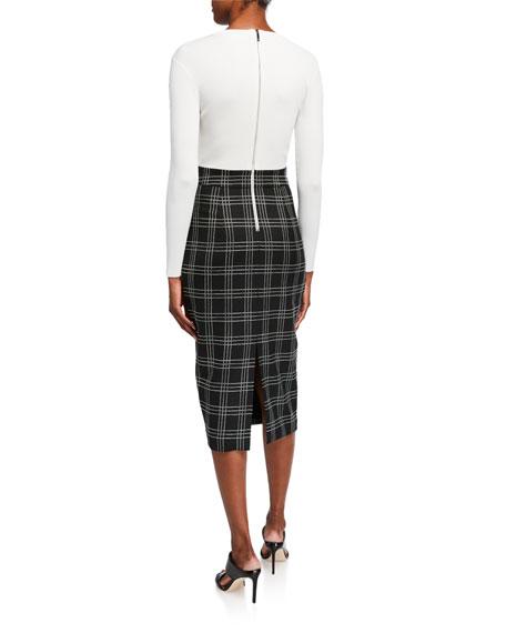 Ted Baker Madysun Straight-Fit Midi Dress