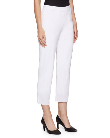 Image 2 of 3: Misook Lined Knit Ankle Pants