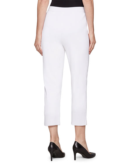 Image 3 of 3: Misook Lined Knit Ankle Pants