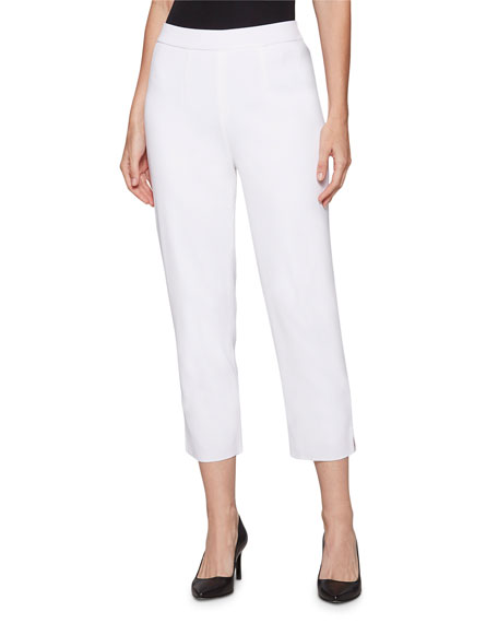 Image 1 of 3: Misook Lined Knit Ankle Pants