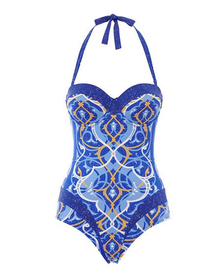 Paolita Arabian Nights Printed One-Piece Swimsuit