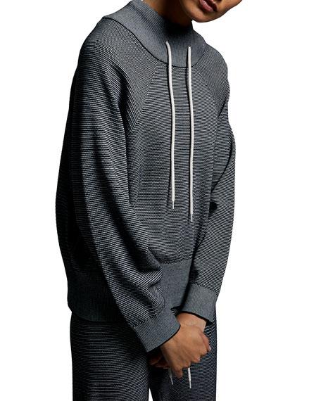 Varley Maceo Pique Knit Sweatshirt