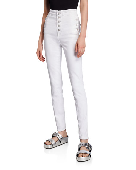 Image 1 of 3: J Brand Natasha Sky-High Super Skinny Jeans