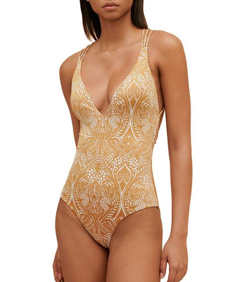Paolita Dorado Azania Strappy One-Piece Swimsuit