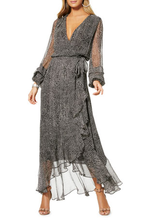 Ramy Brook Tamra Printed Maxi Dress