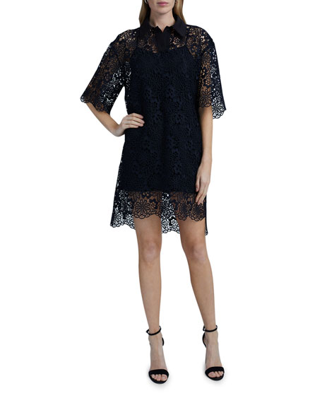 Victoria Victoria Beckham Lace Polo Dress