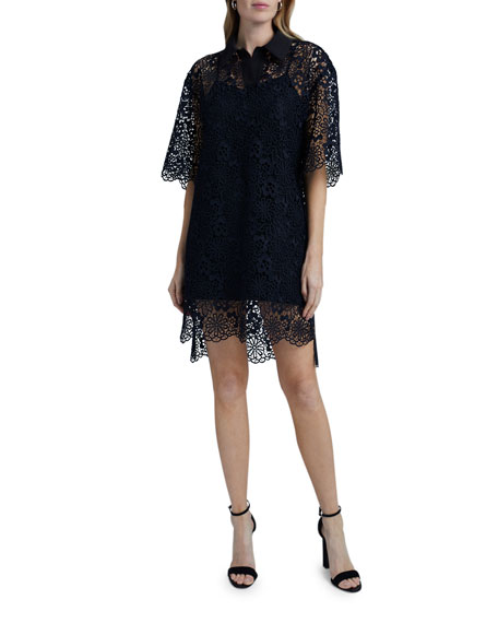 Victoria Victoria Beckham Lace Polo Dress