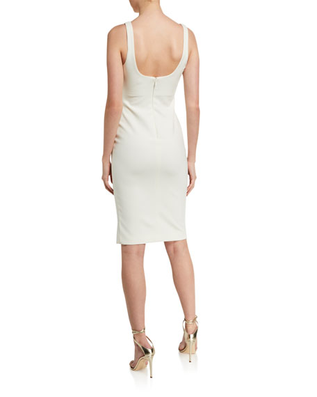 Likely Calero Ruched Square-Neck Dress