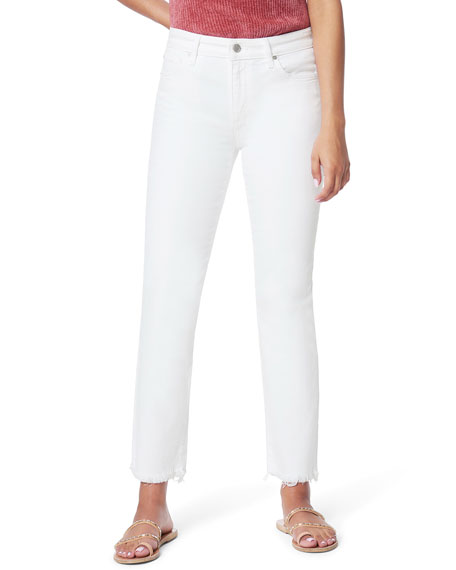 Joe's Jeans The Lara Mid-Rise Cigarette Ankle Jeans with Cut Hem