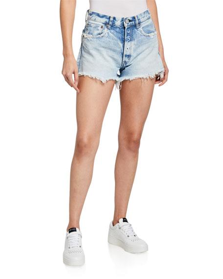 MOUSSY VINTAGE Tribbey Denim Shorts