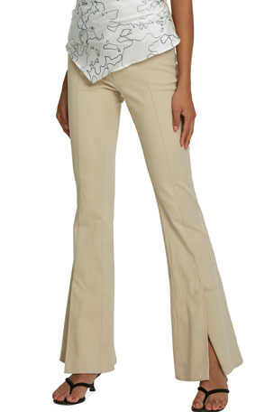 Maggie Marilyn Still Dreaming Vented Flare Trousers