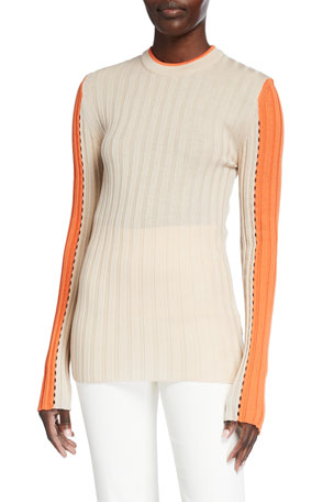 Maggie Marilyn Hold Me Close Ribbed Sweater