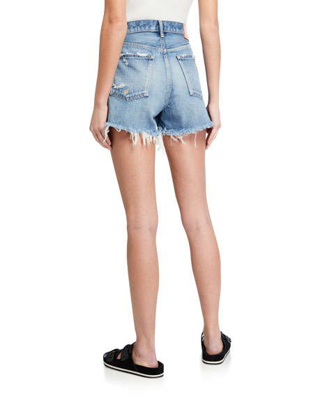 MOUSSY VINTAGE Calumet Distressed Shorts