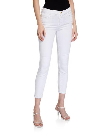 FRAME Le Color Cropped Skinny Jeans