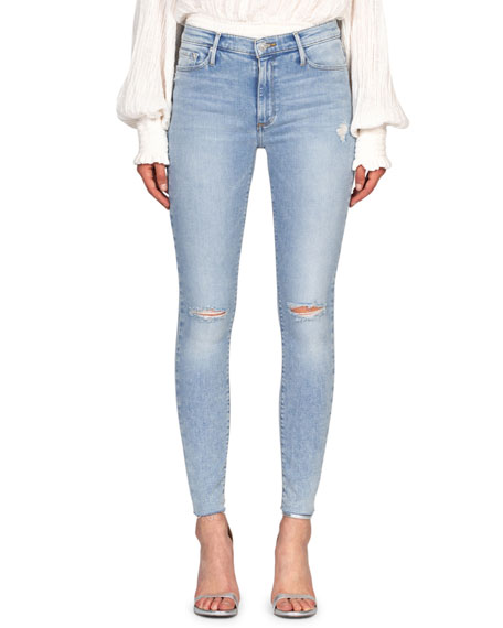 Image 1 of 3: Black Orchid Carmen High-Rise Ankle Fray Jeans