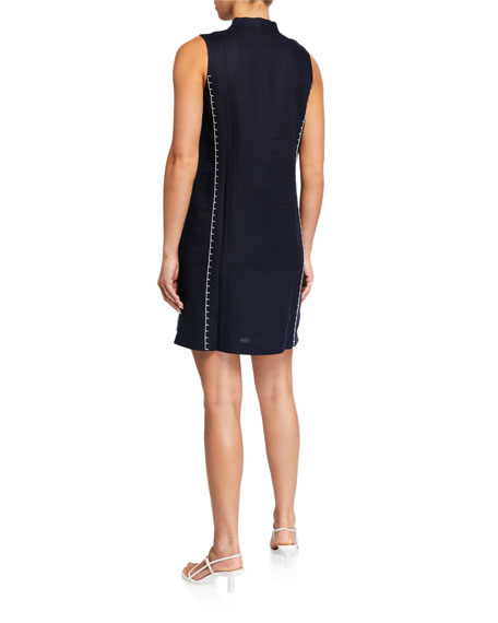 Tory Burch Embroidered Beach Dress with Pockets