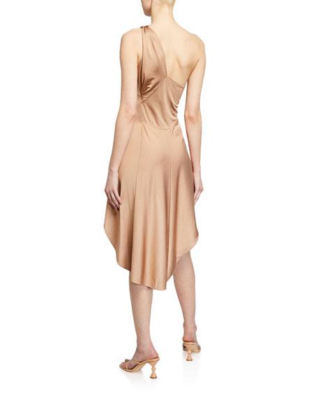 Alexis Mellie One-Shoulder High-Low Dress