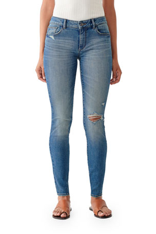 DL1961 Premium Denim Emma Low-Rise Skinny Jeans