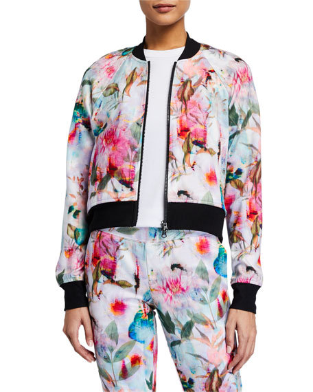 Image 1 of 3: Pam & Gela Floral Cropped Jacket