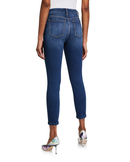 Image 2 of 3: Jen7 by 7 for All Mankind High-Rise Skinny Ankle Jeans