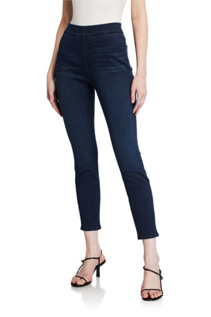 Jen7 by 7 for All Mankind Comfort Skinny Pull-On Jeans