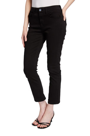 Jen7 by 7 for All Mankind Ankle Straight Jeans