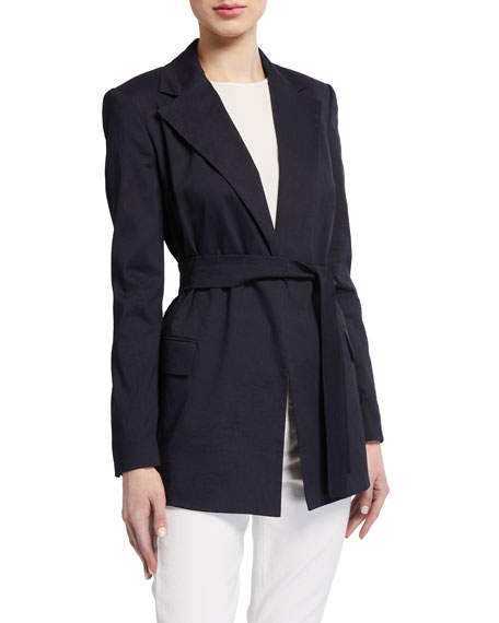 Image 1 of 3: Theory Belted Blazer