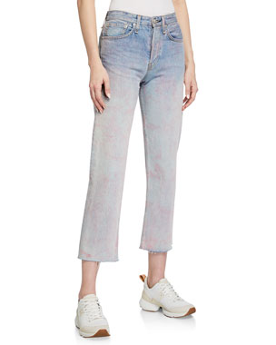 Rag & Bone Maya High-Rise Ankle Jeans