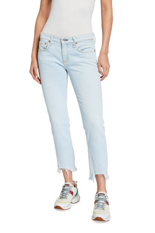 Rag & Bone Dre Low-Rise Slim Boyfriend Jeans