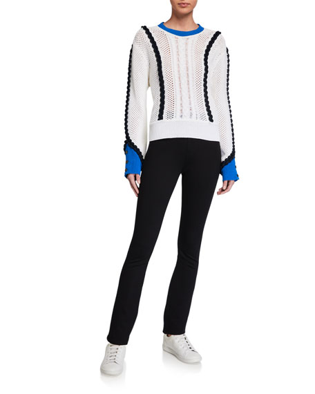 Image 3 of 3: Jen7 by 7 for All Mankind Comfort Skinny Pull-On Knit Pants