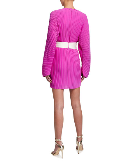 Solace London Tanzy Belted Midi Dress