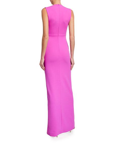 Solace London Sofia Slit-Front Maxi Dress