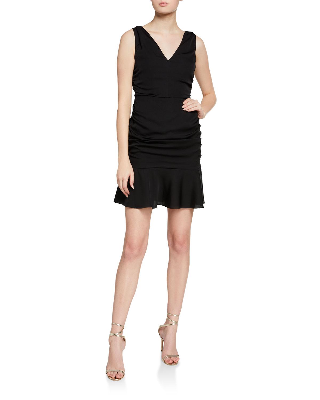 Milly Pam Stretch Silk Dress