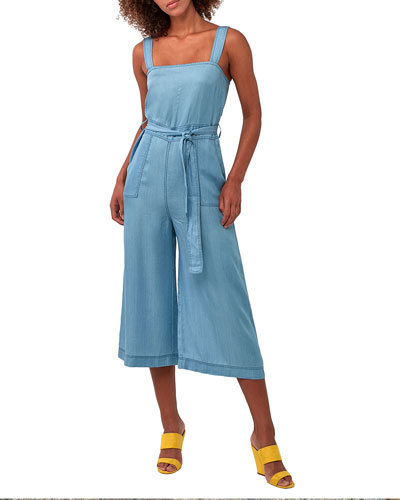 Back In The Day Chambray Jumpsuit