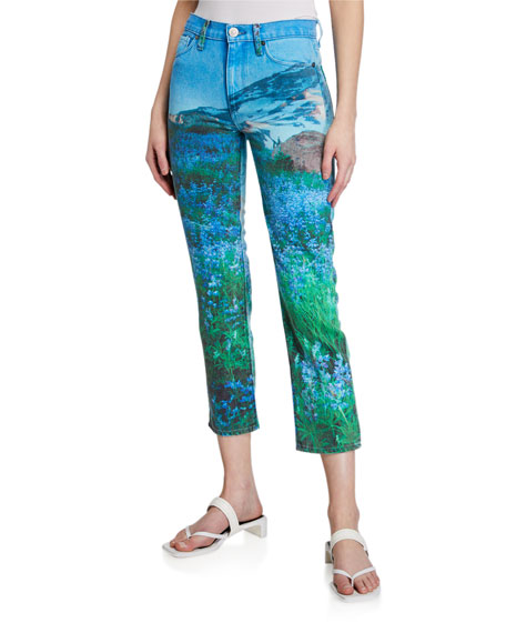 Image 1 of 3: Hudson Barbara Cropped Straight Jeans