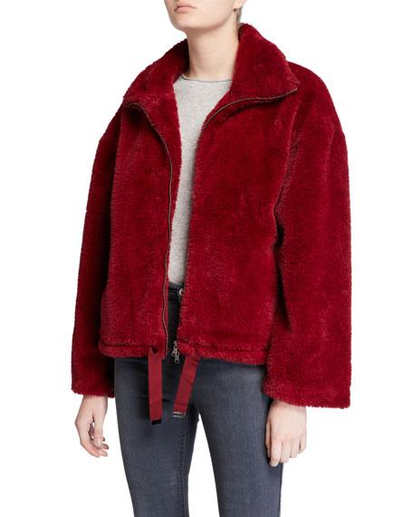 Rebecca Minkoff Brigit Faux-Fur Jacket