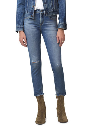 Citizens of Humanity Elsa Mid-Rise Slim Crop Jeans