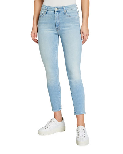 The Looker Mid-Rise Cropped Jeans