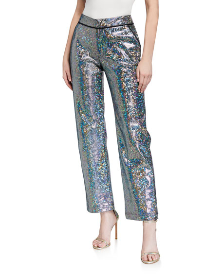 Kirin Mosaic Suit Pants