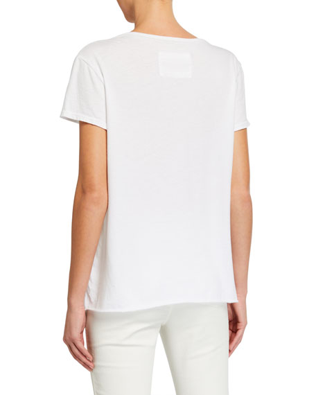 Image 3 of 3: Frank & Eileen Tee Lab Essential Scoop-Neck Short-Sleeve Tee