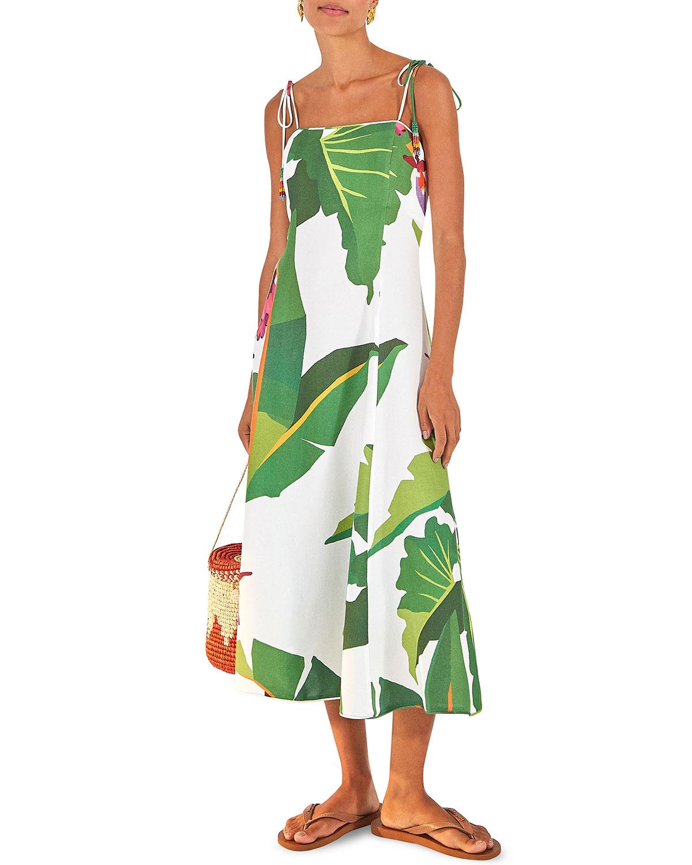 Farm Rio Tropicalistic Midi Dress